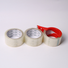 low noise adhesive bopp packing tape/rubber belt