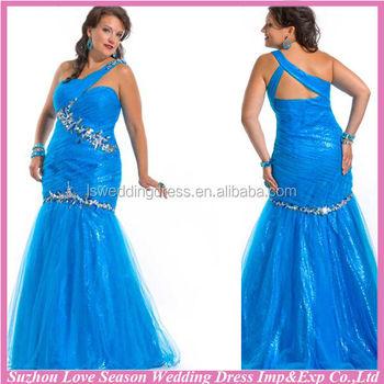 He4189 V Neck Fat Women Prom Dress High Waist Belt Red Evening ...