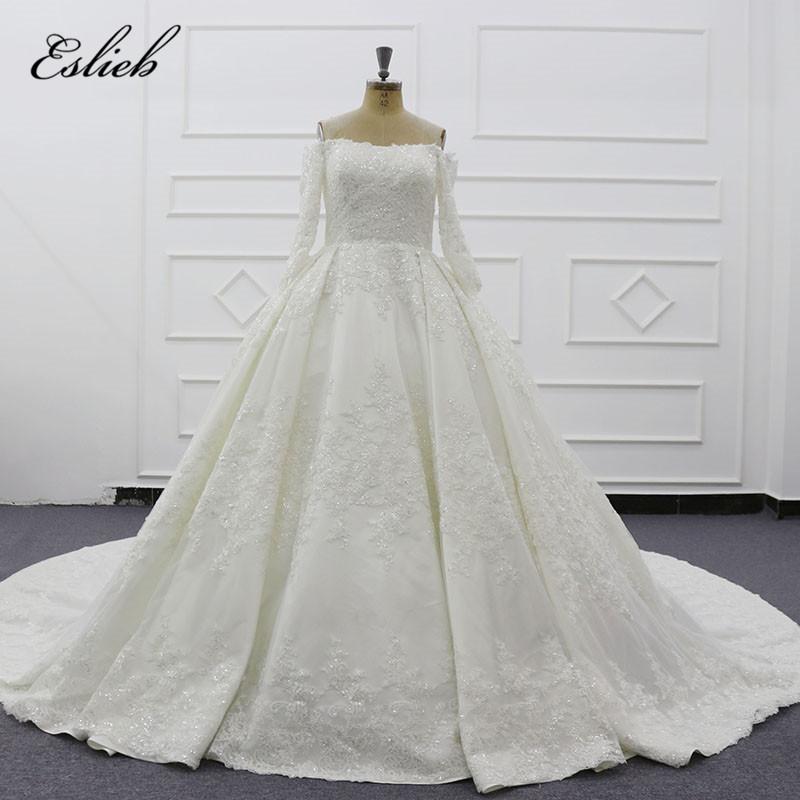 elegant gold wedding dresses