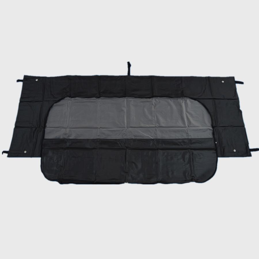 Schwarz weiße Farbe 8mil PVC PEVA Body Bag mit hoher Qualität und wasserdicht
