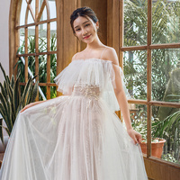 66644 Spaghetti Strap Wedding Gown Aliexpress Chic Floor Length Wedding Dresses