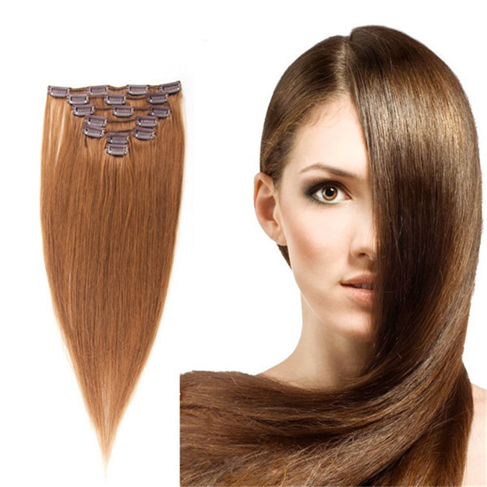 Buy Hot Brazilian Clip In Hu Man Real Hair Extensions 10inch 26inch