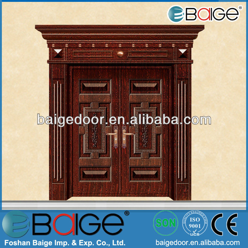 Unique Home Designs Copper Security Door, Unique Home Designs