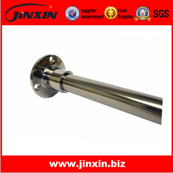 Polished Stainless Steel Shower Rail Or Curtain 1 X 0.5m Polished ...