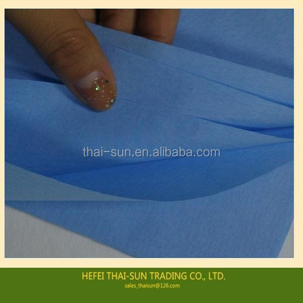 Blue Medical Crepe Paper