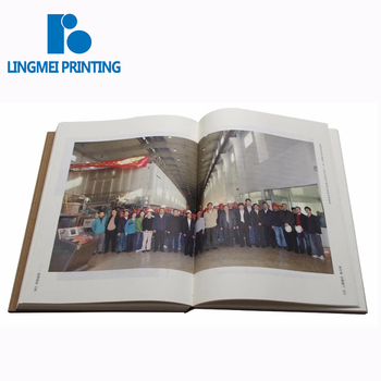 Cheap price high quality China Printer Custom cmyk full color threading stitching binding hardcover Book Printing