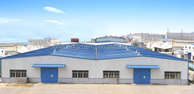 light metal steel structural low cost industrial shed designs