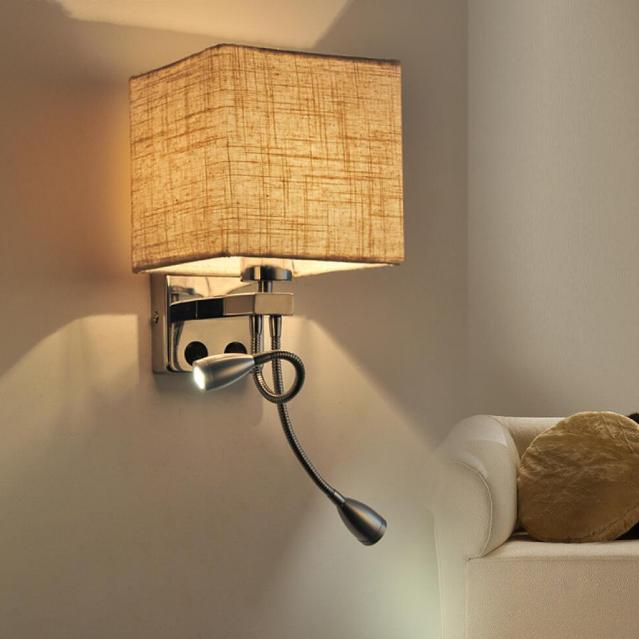 KHÁCH SẠN Treo Tường Góc Đèn LED Trang Trí Ánh Sáng Tường Ánh Sáng LED Tường Đèn Phòng Ngủ