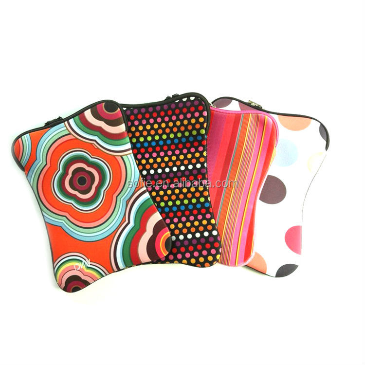 Stylish Hot Sale Colorful Waterproof Laptop Neoprene Sleeve for Laptop