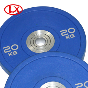 20kg Blue Bumper Plate OEM Sports Fitness Equipment For Sale