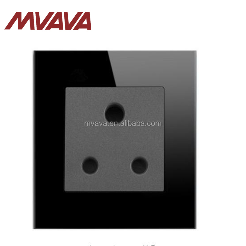 Top Quality Crystal 15A South africa Wall Socket