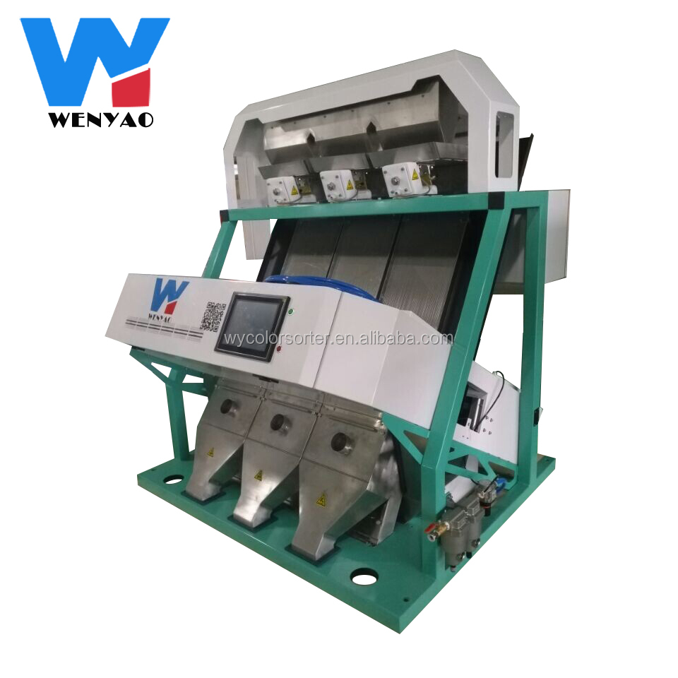 CCD Peanut Color Sorter, Colour sorting, Food Processing Machine for Rice, Wheat, Cereal, Grain, Corn, Seeds, Beans