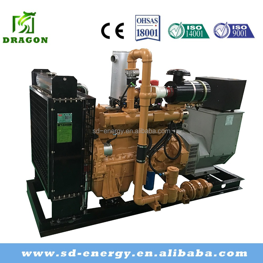 50kw Biomass Gas Generator Set with Fuel of Syngas and CHP System