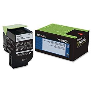 "Lexmark 701Hk Black High Yield Return Program Toner Cartridge . Black . Laser . 4000 Page . 1 Each . Oem ""Product Type: Print Supplies/Ink/Toner Cartridges"""