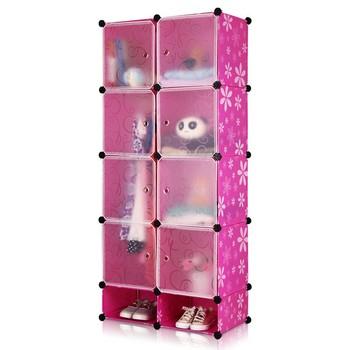 Multi Verwendung Diy Kunststoff 8 Wurfel Lagerung Organisieren