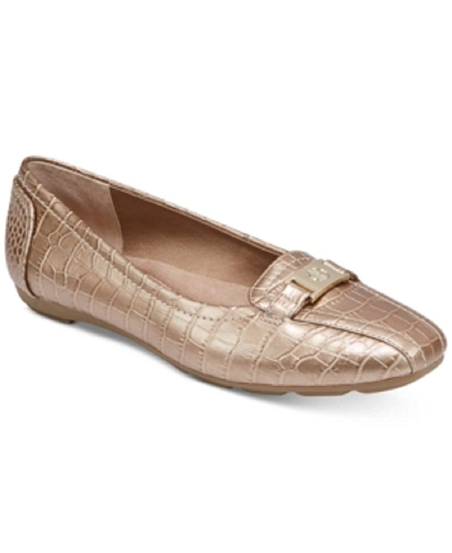 Giani Bernini Womens Jileese Flats Shoes Gold Size 6.5 M US ee82bdf77