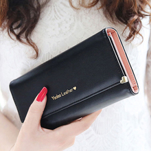 Women s Rivet Heart Faux Leather Clutch Long Purse Card Coin Wallet Handbag Bag 6B22