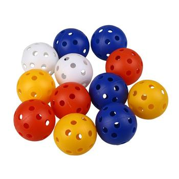 Perforated Plastic Hollow Golf Practice Training Sports Balls