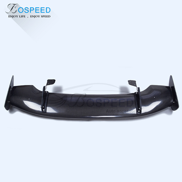 JS style Carbon Fiber Rear Spoiler for HONDA JAZZZ FIT