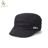Custom wholesale cotton military cap army cap plain dad hat and flat cap with your own logo