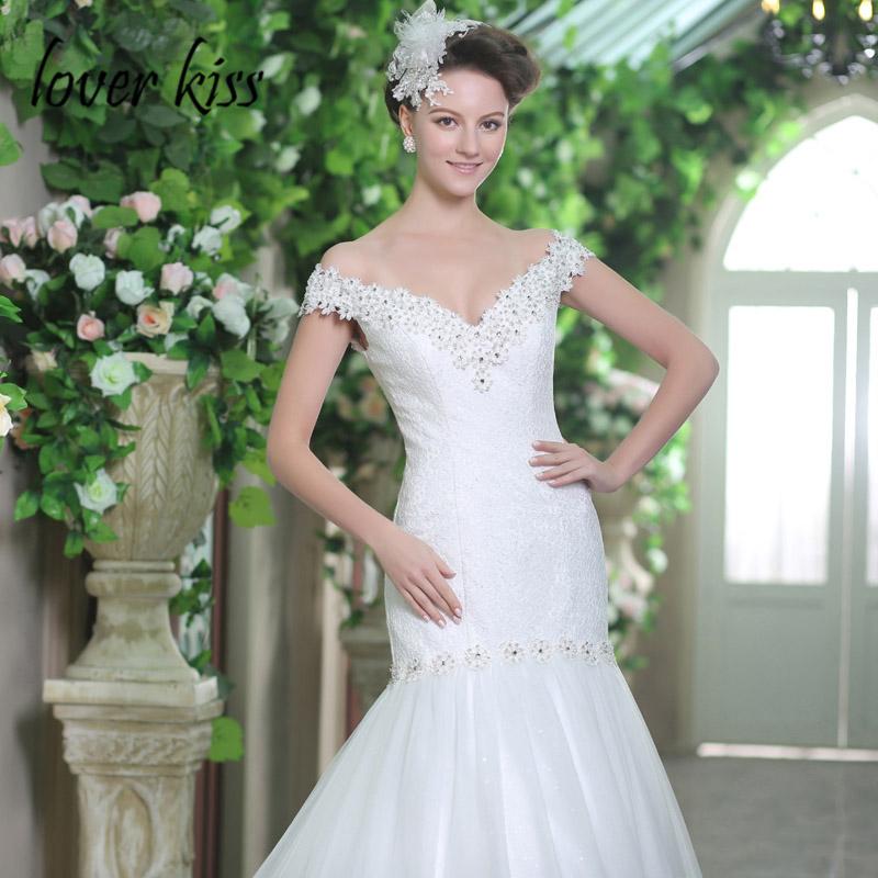 Lover Kiss Vestido De Noiva 2019 Fairy Tale Ruffled Wedding Dress Princess  Criss Cross Beaded Bridal Gowns Formal Robe de marieUSD 132.00 piece 1305e7ce1db2