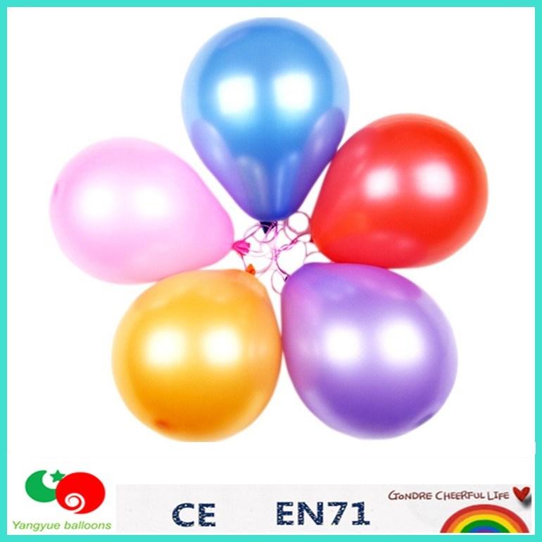 100nature Latex Metallic Balloonhelium Balloons For Party Supply Birthday Decoration