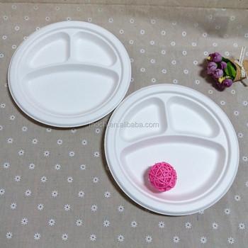 Biodegradable Dinnerware Disposable Divided Rice Husk Paper Plates & Biodegradable Dinnerware Disposable Divided Rice Husk Paper Plates ...