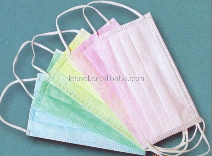 Three Ply Non-Woven Face Mask