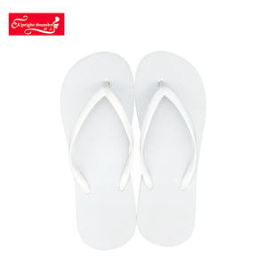 Summer beach sandals shoes flat wedding white EVA flip flops slipper for guest