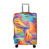 Luggage Protective Cover for 18-28 Inch Suitcase Stretch Luggage Case Cover Elastic Suitcase Cover