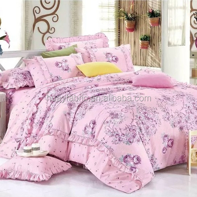 Factory Sale Different Types Printed Cotton Fabric Flower Cotton Printed Fabric  Fabric For Making Bed Sheets
