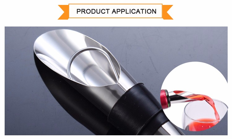 Wholesale Elegant Custom Wine Aerator Pourer