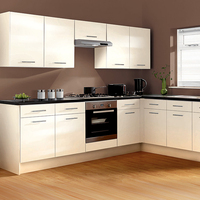 Factory wholesale modular stainless steel kitchen cabinet home improvement