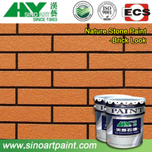 new design polyurethane brick panels/brick stone natural paint with competitive price