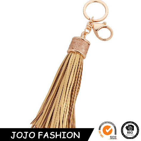 Wholesale Leather Tassels Keychain High Quality Accessories Keychains