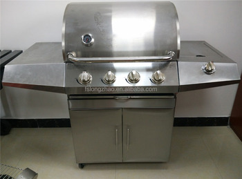 2016 Indoor Stainless Steel BBQ Gas Grill Commercial Gas Grill