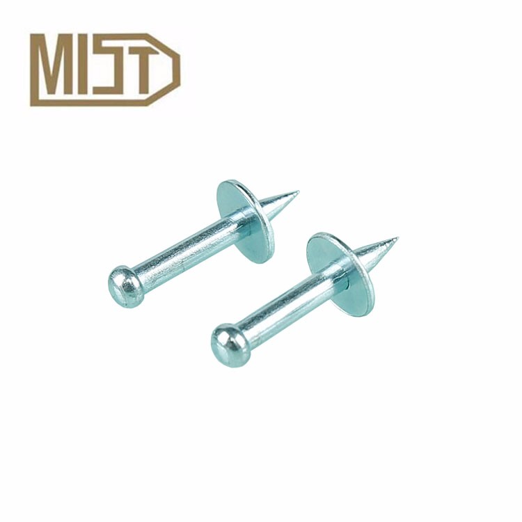 NK series Drive Pin Type Fastener of High Quality Galvanized Stainless Steel Concrete Nails for Nail Gun
