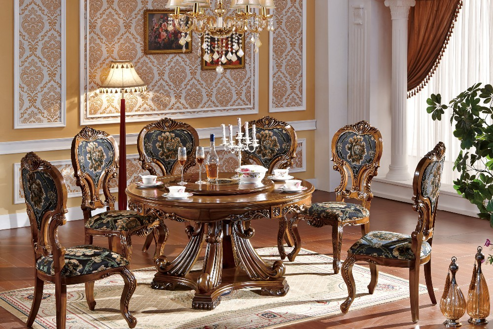 Hand Carved Dining Table Design Ideas