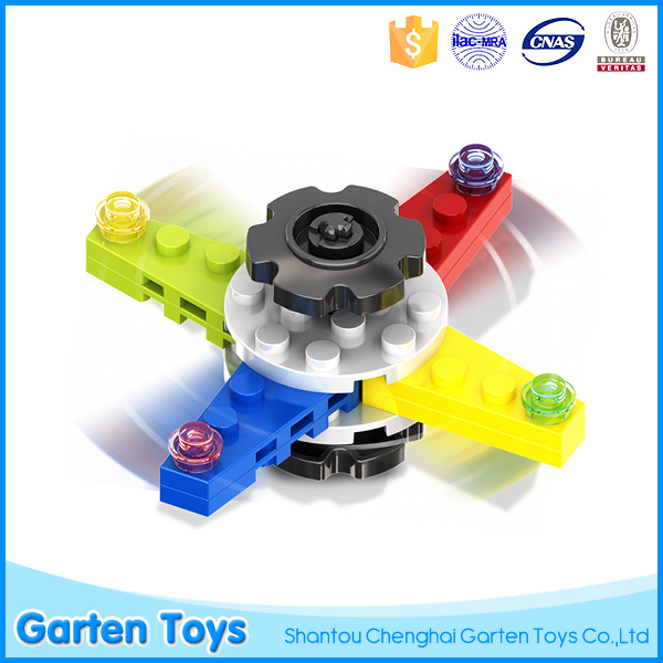 New self-assembly anti stress fidget spinner toys