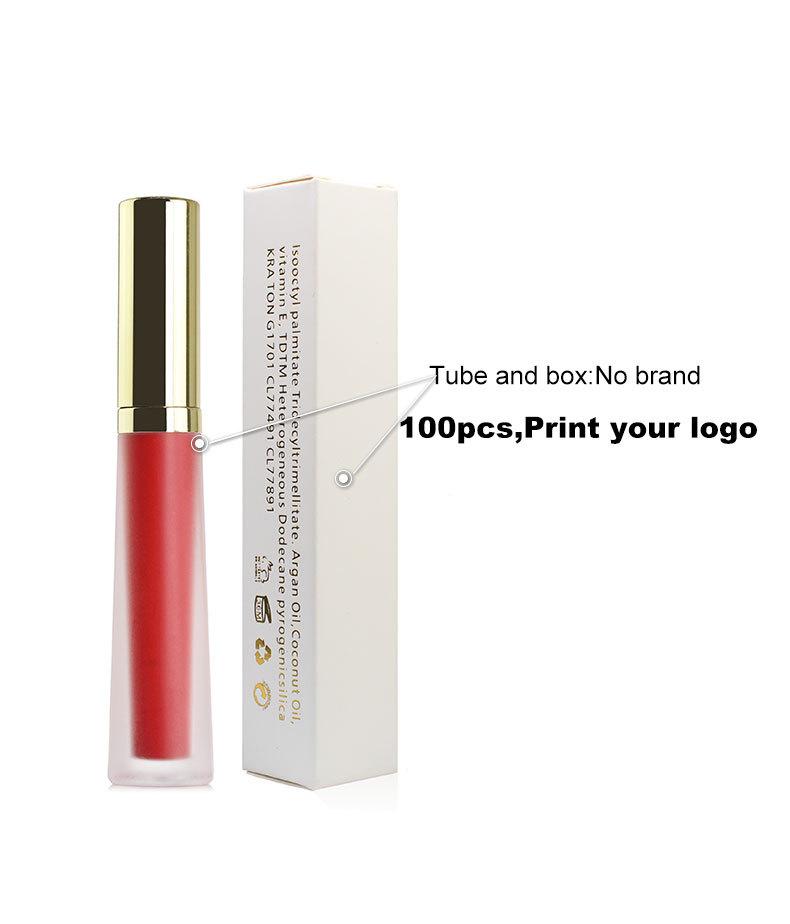 O. ZWEI. O Wasserdicht 10 Farbe Matt Flüssigen Lippenstift Hoch Pigmentierten Lang Anhaltende Lippenstift