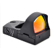 1X25 open reflex red dot sight with click adjustment function and light sensor holds the zero well