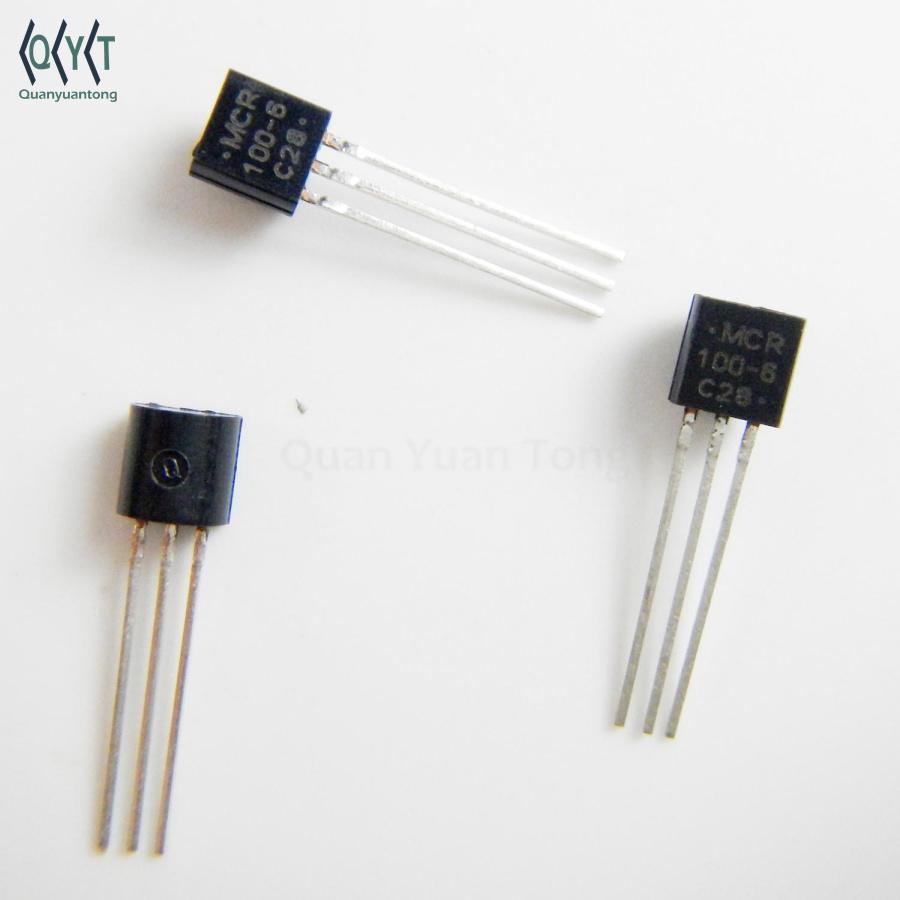MCR100-6 TRANSISTOR TO-92 MCR100-6