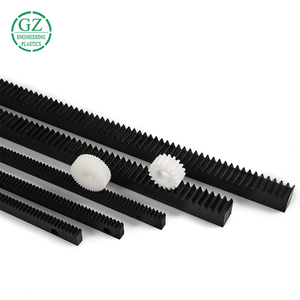 hot sale custom precision machining parts PA66 nylon rack gear with transmission