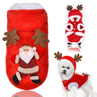 Dog Christmas Clothes Costume Winter Dog Cat Coat For Small Dogs Cats Chihuahua Yorkshire Terrier Pet Clothes Ropa para perro