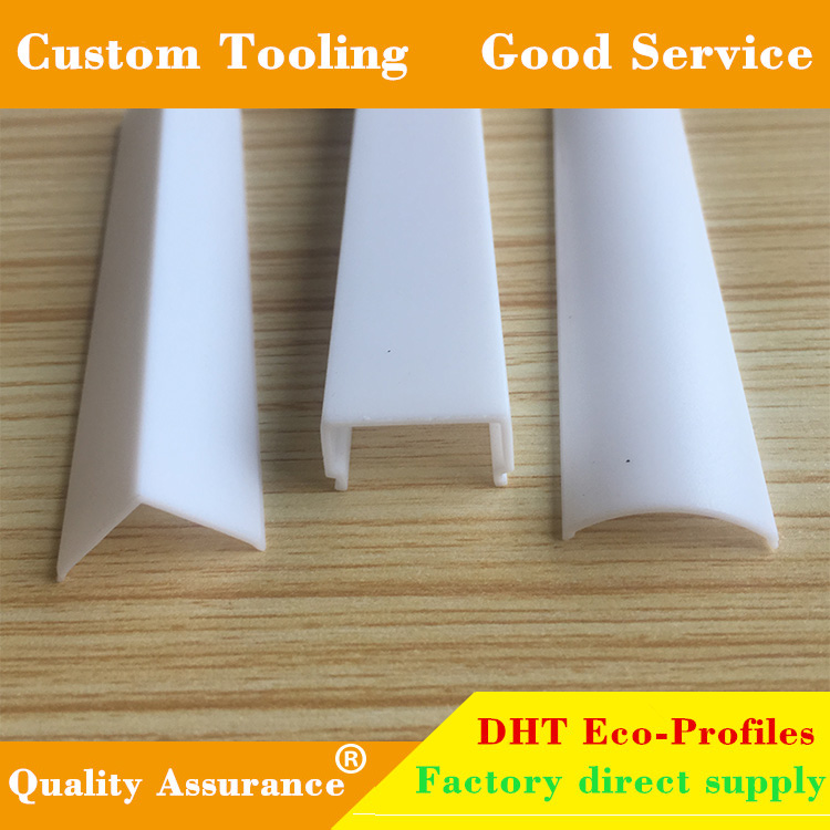 Good quality diffuser opal white small size pc led tube cover