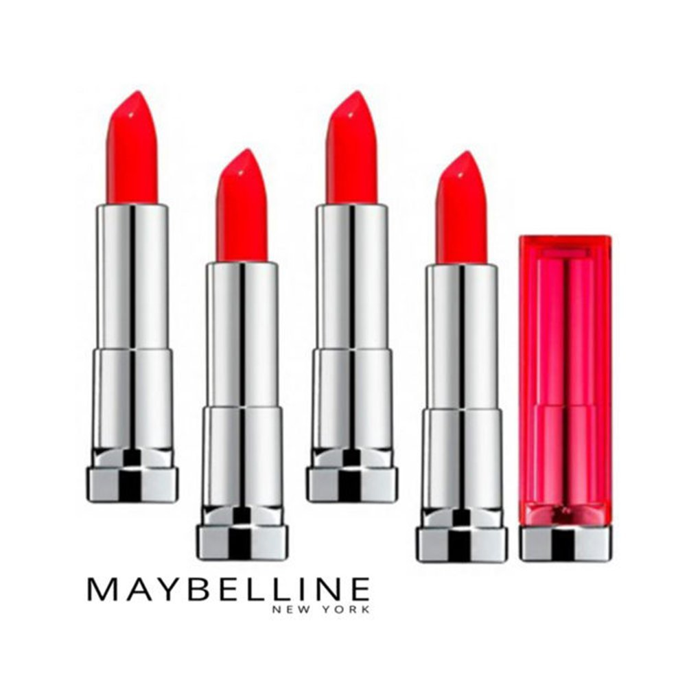 (4 Pack) Maybelline ColorSensational Limited Edition Lipstick - #985 Infra-Red