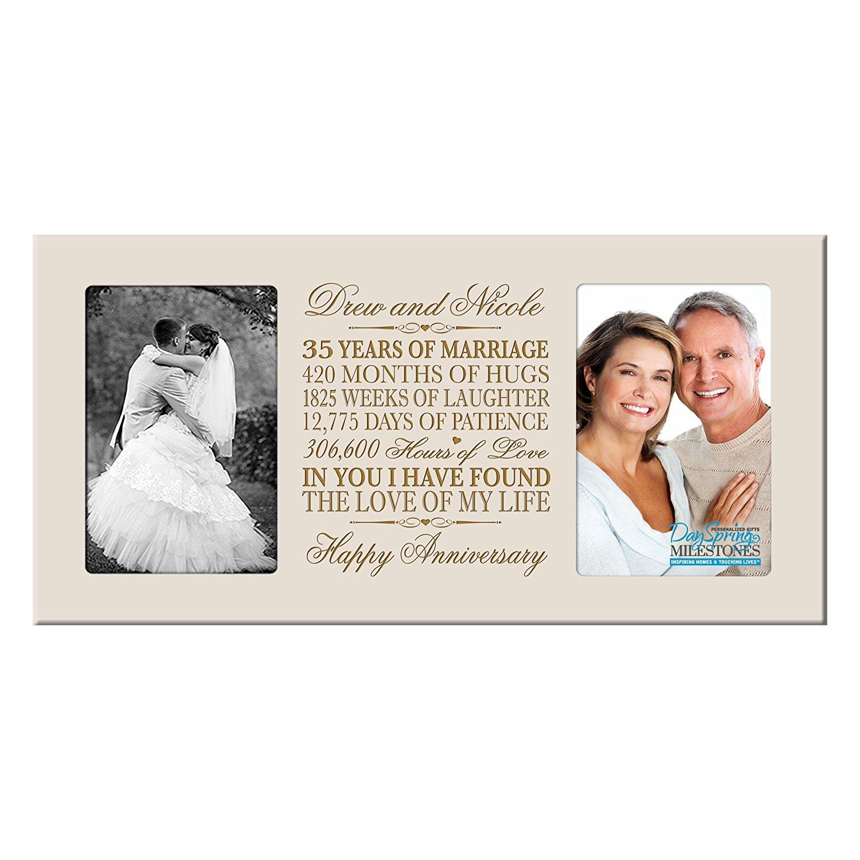 Buy Personalized 35 Year Anniversary Gift Her Him Couple Custom