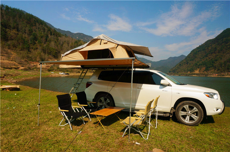 Unistrengh Easy Opened Suv Car Roof Top Tent For Outdoor Camping