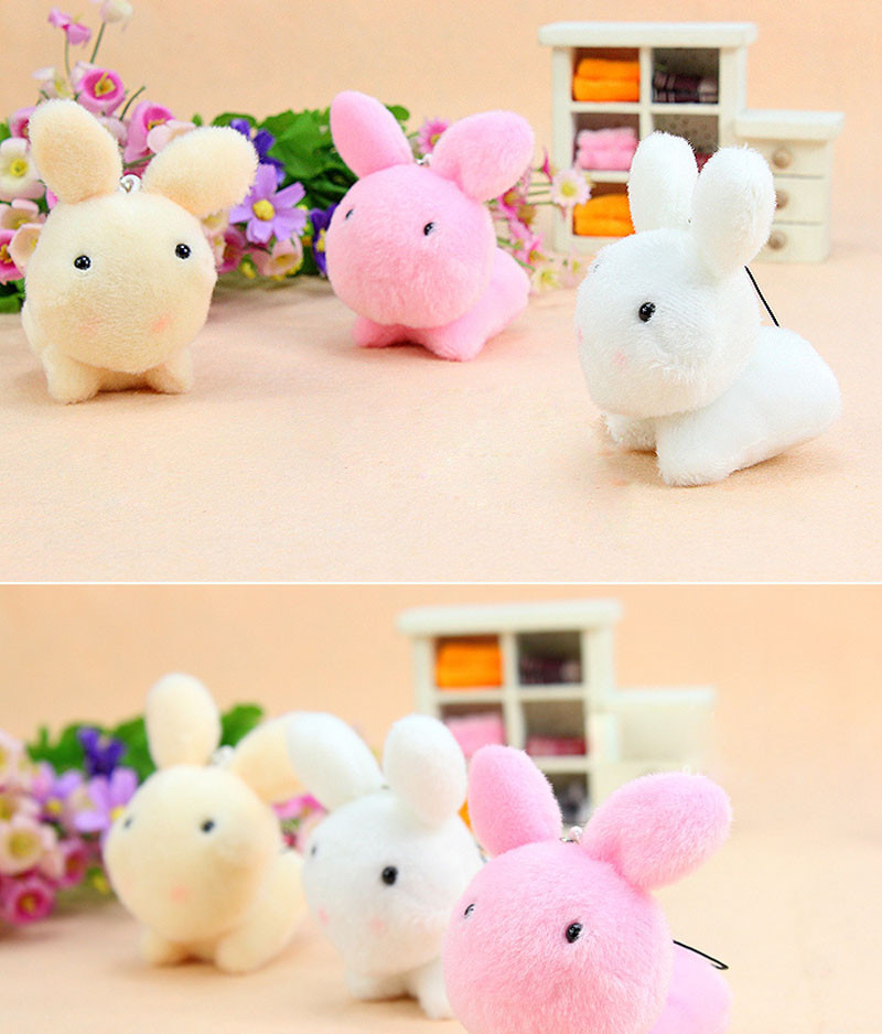 3e0bdb4e7d3 ... pcs Cute Rabbit plush With Chain. Your baby or lover will love it very  much -