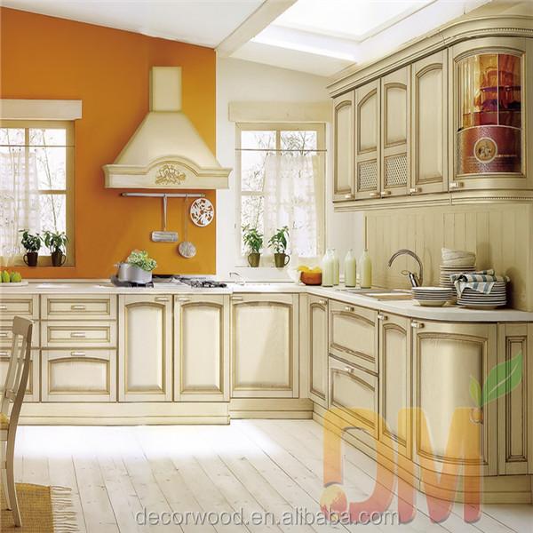 Classic Wood Kitchen Rta Custom Made Russian Kitchen Furniture Buy